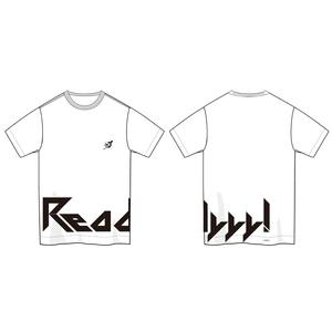 Readyyy! ロゴデザインTシャツ(白)