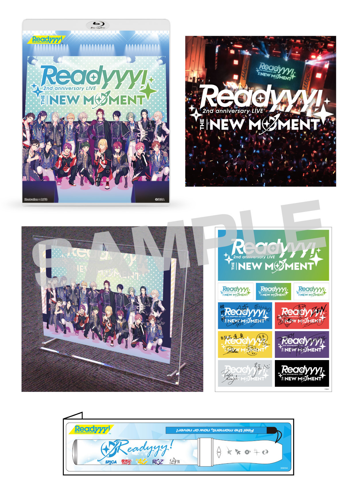 "Blu-ray「Readyyy! 2nd anniversary LIVE ""THE NEW MOMENT""」【受注生産限定BOXセット】"
