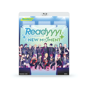 "Blu-ray「Readyyy! 2nd anniversary LIVE ""THE NEW MOMENT""」"